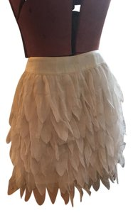 Ark & Co. Mini Skirt Beige/Cream