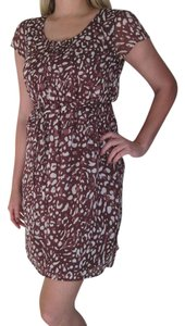 Merona short dress Brick Red / Brown on Tradesy