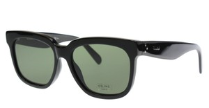 Cline NEW Celine 41057/S Radical Black Oversized Sunglasses