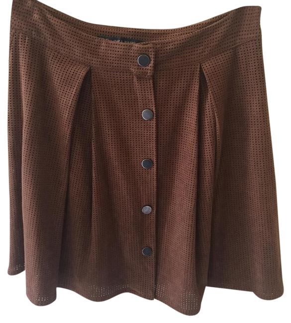 Item - Brown Button-up Front Skirt Size 0 (XS, 25)