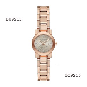 Burberry Brand New Burberry Heritage Ladies - Rose Gold Dial Watch BU9215