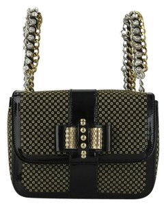 Christian Louboutin Laser-cut Leather Bead Embellished Bow Sweet Charity  Made In Italy Backpack d645c1066ade2