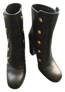 Mulberry Black Gold British Boots