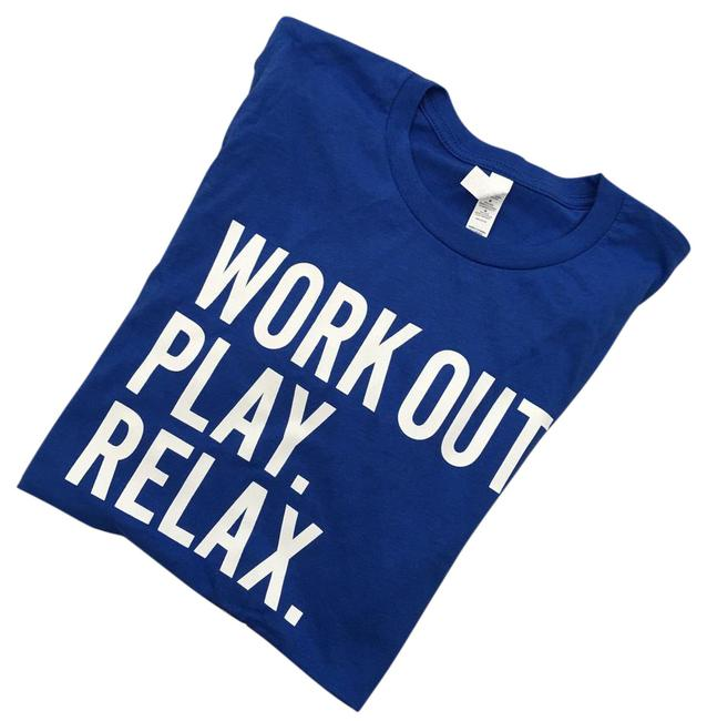 Preload https://img-static.tradesy.com/item/21043684/blue-work-out-play-relax-t-shirt-from-clubsport-cotton-available-in-small-or-medium-tee-shirt-size-8-0-1-650-650.jpg
