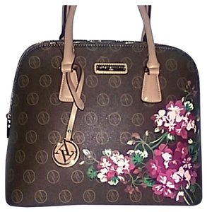Adrienne Vittadini Satchel in BROWN
