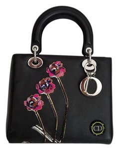 Dior Lady Tote in black