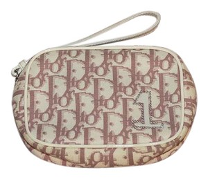 Dior Wristlet in pink / white