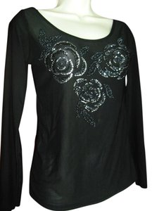 Marc Jacobs Top beaded black