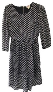 One Clothing High Low Pattern Dress