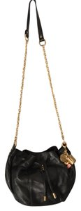 Juicy Couture Leather Charms Chain Strap Proyective Pouch Shoulder Bag