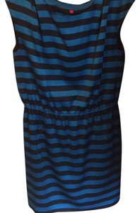 Vince Camuto short dress black and blue on Tradesy
