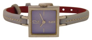 Coach Coach women's stainless steels and leather watch.