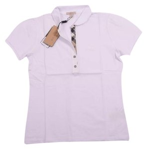 Burberry polo Top White