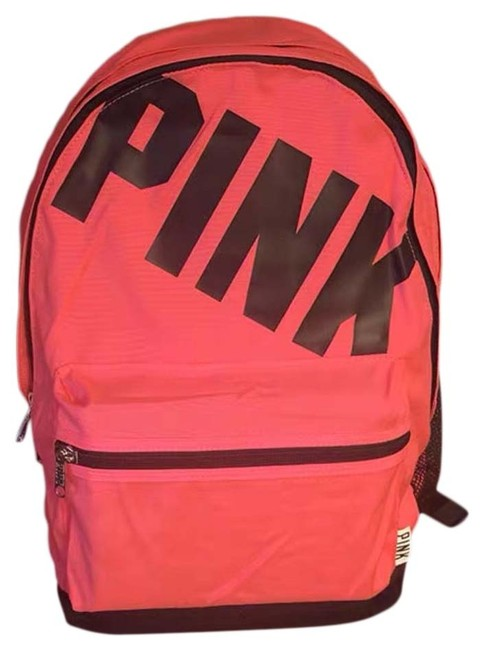 Item - Neon Campus Bookbag Pink Backpack