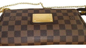 Eva clutch damier ebene Cross Body Bag