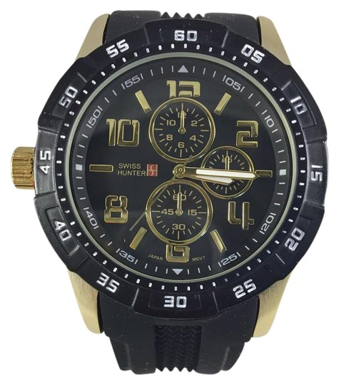 Swiss hunter Swiss Hunter SH2489 Black Men's Wrist Watch