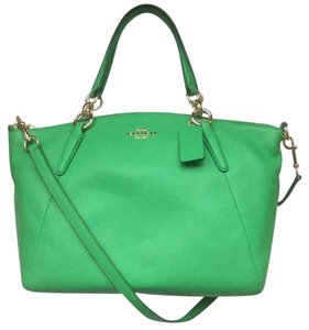 Coach Nwt New With Tags Satchel in Kelly