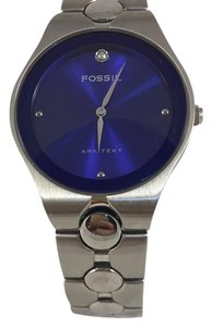 Fossil Fossile men's stainless steel watch.