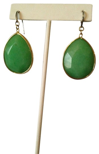 Preload https://img-static.tradesy.com/item/2104453/fossil-pastel-greengold-nwot-faceted-onyx-gemstone-earrings-0-0-540-540.jpg