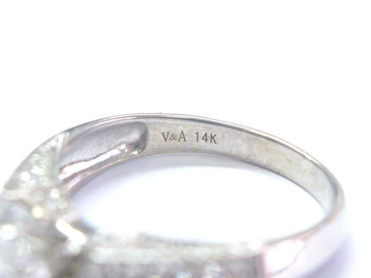 Other Fine Round & Baguette Diamond Engagement White Gold Ring 14Kt EGL USA