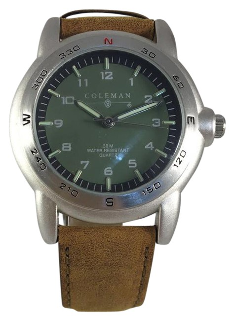 Item - Brown Mint Condition Leather Mens Watch
