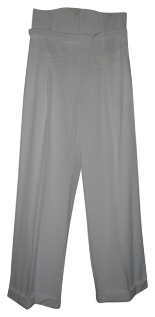 Preload https://img-static.tradesy.com/item/21044596/ivory-offwhite-nwts-excellent-condition-wide-leg-pants-size-12-l-32-33-0-1-650-650.jpg