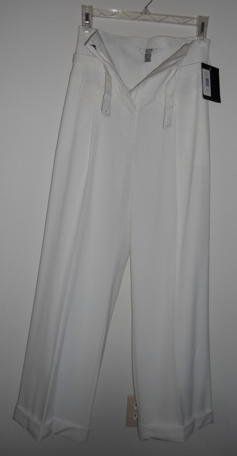 Citrine Collection Wide Leg Pants Ivory / Offwhite