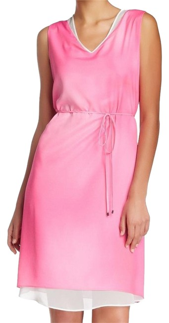 Preload https://img-static.tradesy.com/item/21044629/t-tahari-pink-white-up-to-date-ombre-v-neck-sheath-a-shape-ml-mid-length-short-casual-dress-size-10-0-1-650-650.jpg