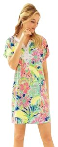 Lilly Pulitzer short dress Green, Pink, Orange, Blue, Yellow, Red, White on Tradesy