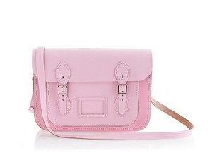 The Cambridge Satchel Company Leather Satchel in Pink