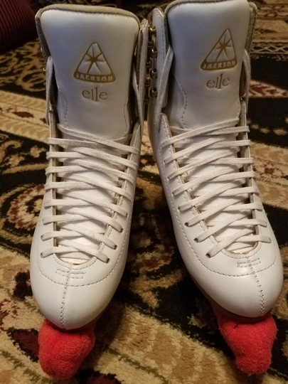 Other Figure Skating Figure Skates Ice Leather White Boots