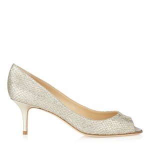Jimmy Choo gold or champagne Formal