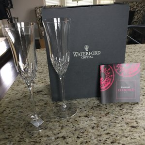 Waterford Crystal Lismore Champagne Toasting Flutes