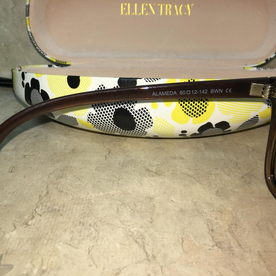 7 For All Mankind Brown Alameda Cat Eye Frame and Lenses Sunglasses 78% off  retail