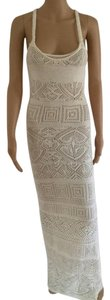 Emilio Pucci New Crochet Sexy Maxi Sleeveless Dress
