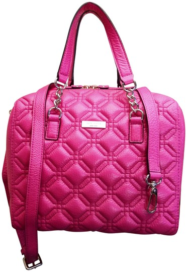 Preload https://img-static.tradesy.com/item/21045128/kate-spade-astor-court-quilted-pink-leather-satchel-0-5-540-540.jpg