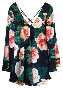 Show Me Your Mumu short dress Floral Flowy Mini Print Festival on Tradesy