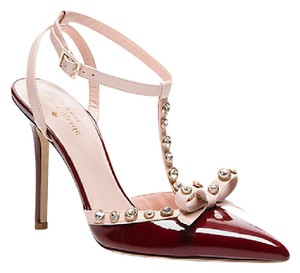 Kate Spade Red Chestnut Pumps