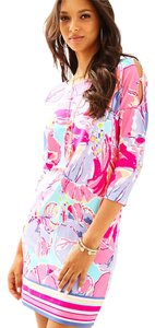 Lilly Pulitzer short dress Multi Jam Out Lilla on Tradesy