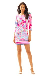 Lilly Pulitzer short dress Pink, Purple, Light Blue Resort on Tradesy