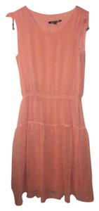 Gianni Bini short dress Peach Rose on Tradesy