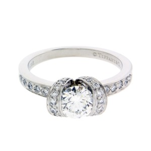 Tiffany & Co. Tiffany & Co .83 carat Ribbon engagement ring in platinum