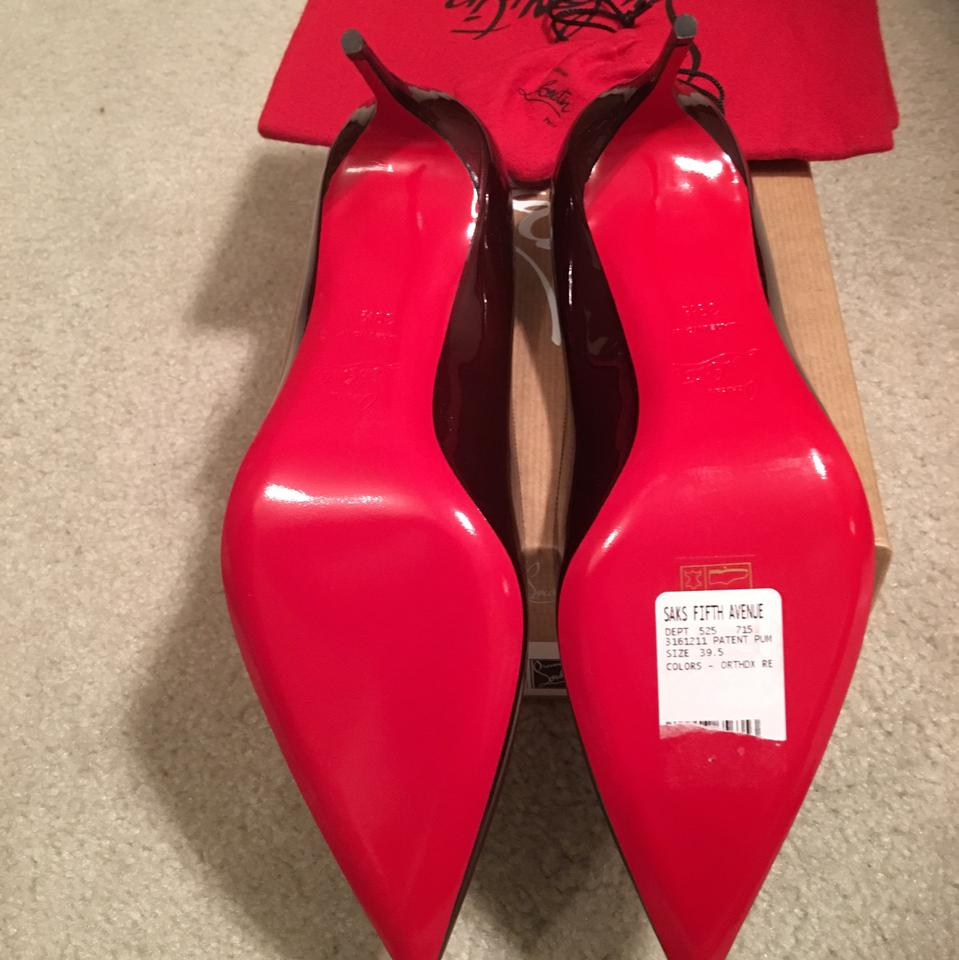 b2ad79c58ed9 Christian Louboutin Orthodox Red (Burgundy) Décolleté 554 Pigalle Pumps  Size US 9.5 Regular (M