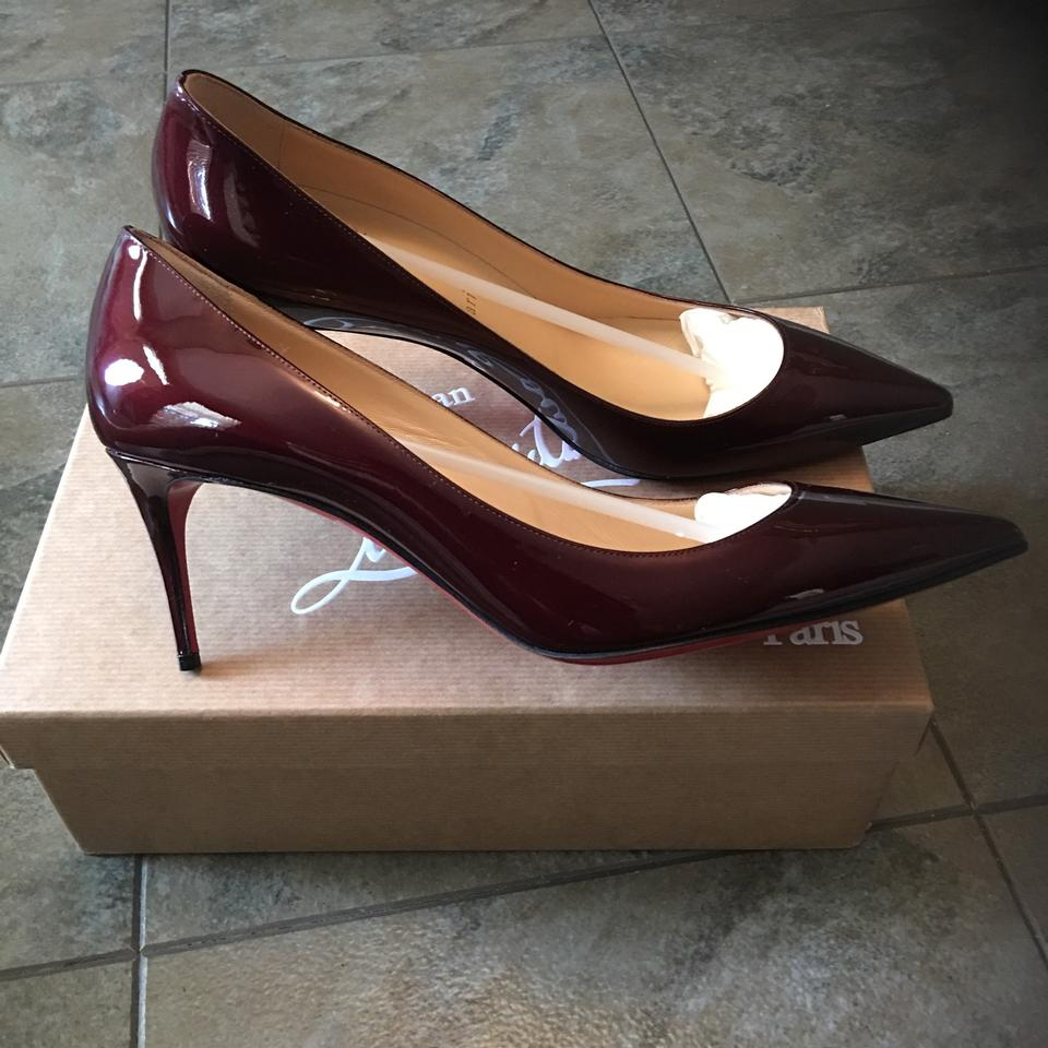 01785262517b Christian Louboutin Orthodox Red (Burgundy) Pumps Image 10. 1234567891011