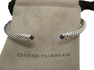 David Yurman Women's Amethyst Cable Classics Bracelet with Pave