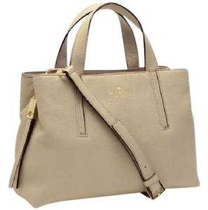 Kate Spade Satchel in Clkocktower Taupe