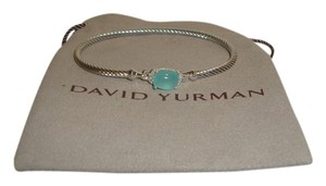 David Yurman 3 mm chalcedony wheaton bracelet