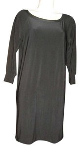Norma Kamali short dress black on Tradesy