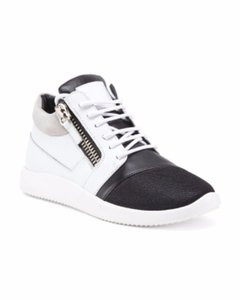 Giuseppe Zanotti Sneaker Zipper White Athletic