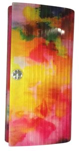 Tory Burch watercolor floral Clutch